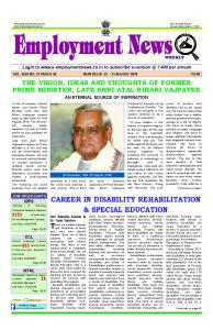 Career in Disability Rehabilitation and Special Education