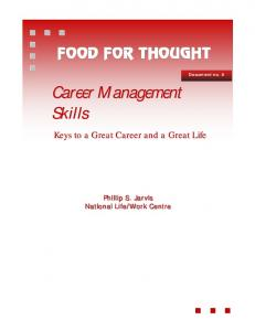 Career Management Skills - Jarvis - iaevg
