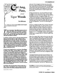 Carl Jung, Plato, and Tiger Woods