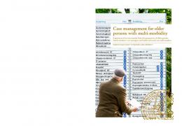 Case management for older persons with multi