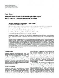 Case Report Progressive Multifocal ... - BioMedSearch
