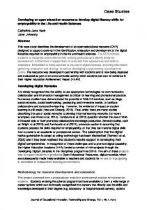 Case Studies - University of Greenwich Journals and Working Papers