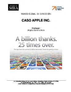 caso apple inc in 2012 essay Search results for 'laws and regulations for apple inc' apple inc apple, inc case assignment apple, inc has been named one of the most innovative companies for the past couple of years.