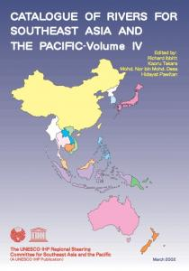 CATALOGUE OF RIVERS FOR SOUTH EAST ASIA ...