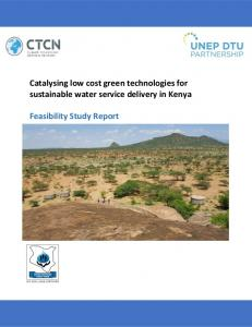 Catalysing low cost green technologies for sustainable water service ...
