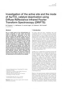 catalyst deactivation using Diffus - Core