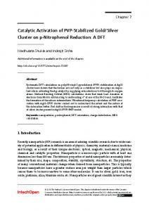 Catalytic Activation of PVP-Stabilized Gold/Silver ...