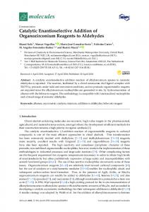 Catalytic Enantioselective Addition of Organozirconium Reagents to