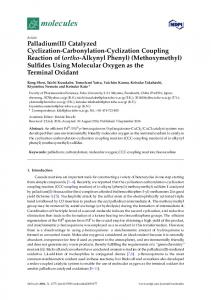 Catalyzed Cyclization-Carbonylation-Cyclization Coupling Reaction of