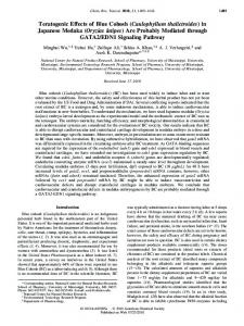 Caulophyllum thalictroides - ACS Publications - American Chemical ...