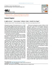 Caveat Emptor - European Urology