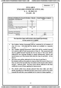 CBSE Class 9 English Communicative SA 2 2013 Sample Paper (1).