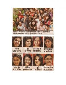 CBSE Class XII Board Result : 2012-2013 - ST. Thomas' School