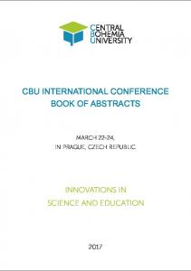 cbu international conference book of abstracts