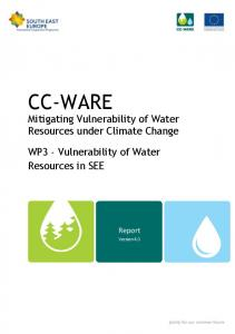 CC-WARE - South East Europe Programme