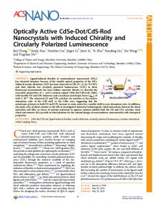 CdS-Rod Nanocrystals with