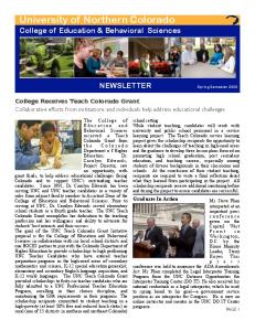 CEBS Fall 2009 Newsletter