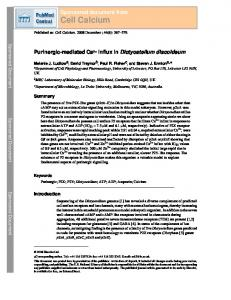 Cell Calcium - BioMedSearch