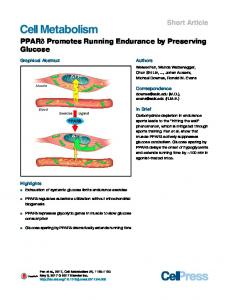 Cell Metabolism - Cell Press