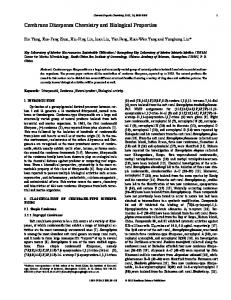 Cembrane Diterpenes Chemistry and Biological