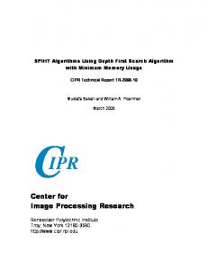 Center for Image Processing Research