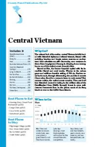 Central Vietnam - Lonely Planet
