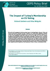 CEPS Policy Brief - Archive of European Integration