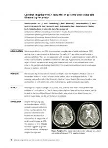 Cerebral imaging with 7-Tesla MRI in patients with