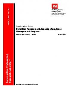 CERL SR-08-1, Condition Assessment Aspects of an ... - DTIC