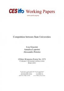 CESifo Working Paper no. 3373 - SSRN papers