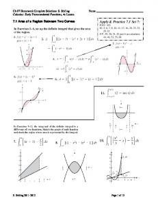 Ch 07 Homework Complete Solutions