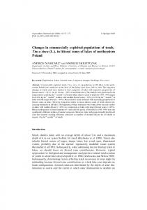 Changes in commercially exploited populations of ... - Springer Link
