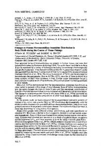 Changes in Human H exosddase Isoenzyme Distribution in Body ...