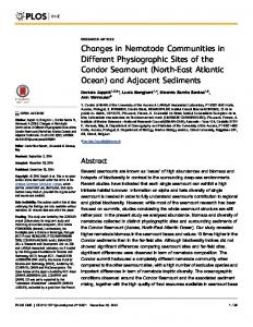 Changes in Nematode Communities in Different Physiographic ... - Plos