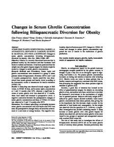 Changes in Serum Ghrelin Concentration ... - Wiley Online Library