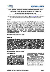 CHANGES IN THE ZOOPLANKTON COMMUNITY OF TAQUARA ...