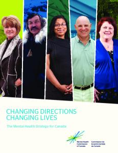 Changing Directions, Changing Lives: The Mental Health Strategy