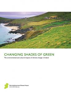 Changing Shades of Green - Maynooth University ePrints and ...