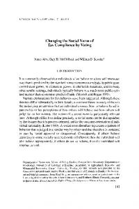 Changing the Social Norm of Tax Compliance ... - Wiley Online Library