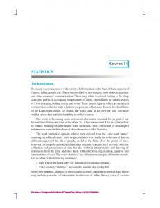 chap-14 - NCERT BOOKS and CBSE BOOKS