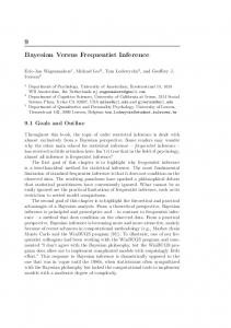 Chap. 9 Bayesian Versus Frequentist Inference.pdf