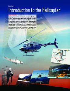 Chapter 01: Introduction to the Helicopter - FAA