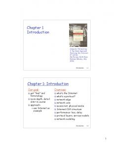 Chapter 1 Introduction Chapter 1