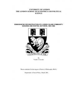chapter 1 - LSE Theses Online