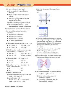 Chapter 1 Practice Test (196.0K) - McGraw-Hill Ryerson