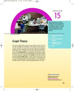 Chapter 15: Introduction to Graph Theory - Cengage Learning
