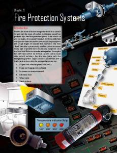 Chapter 17: Fire Protection Systems