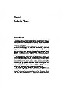 Chapter 2 Conducting Polymers - Springer