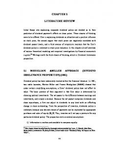 chapter 2 literature review - Shodhganga