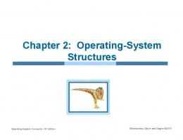 Chapter 2: Operating-System Structures - DIRO : Service web